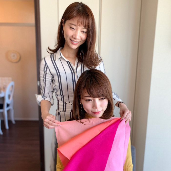 愛知、岐阜、三重、名古屋結婚相談所ブライダルサロンZEROwomanパーソナルカラー診断、骨格診断