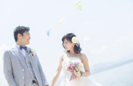 愛知、岐阜、三重、名古屋結婚相談所ブライダルサロンZEROwomanサロンラウレアビーチの花嫁花婿