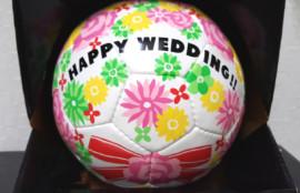 愛知、岐阜、三重、名古屋女性結婚相談所ブライダルサロンZEROwoman成婚祝フットサルボール