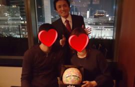 愛知、岐阜、三重、名古屋女性結婚相談所ブライダルサロンZEROwoman成婚者食事