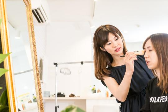 愛知、岐阜、三重、名古屋女性専門結婚相談所ブライダルサロンZEROフルメイク