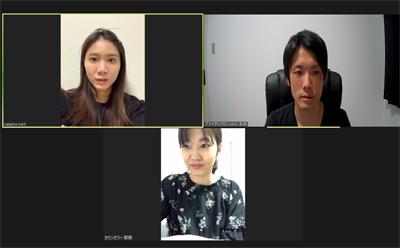 愛知、岐阜、三重、名古屋女性専門結婚相談所ブライダルサロンZEROオンラインスタッフミーティング
