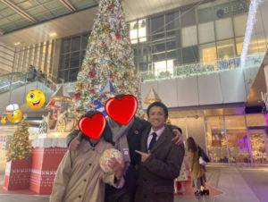 愛知、岐阜、三重、名古屋女性専門結婚相談所ブライダルサロンZEROクリスマス成婚1